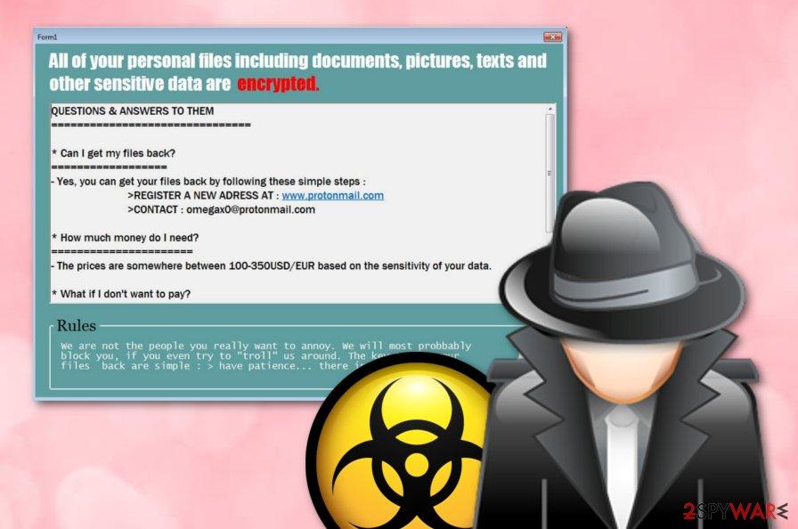 Litra ransomware virus