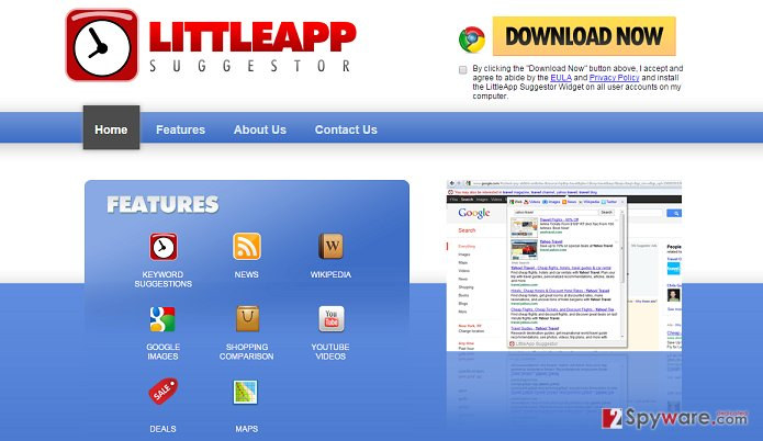 LittleApp Suggestor virus