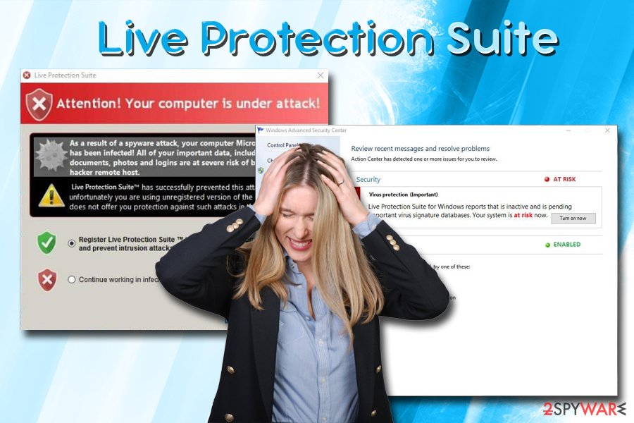 Live Protection Suite scam