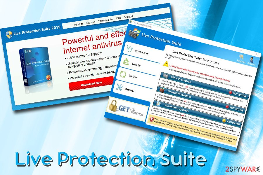 Live Protection Suite