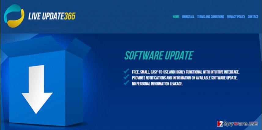 Live Update 365 virus