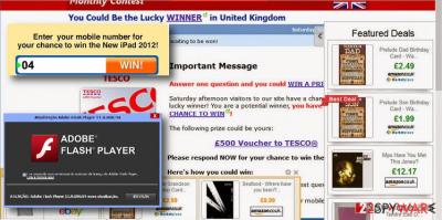 Several examples of Liveadexchanger.com ads