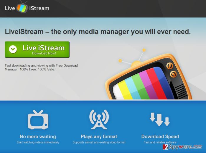 LiveiStream snapshot