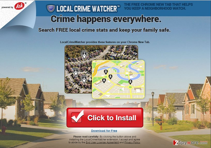 Local Crime Watcher