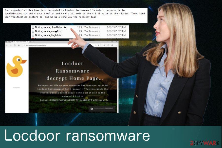 Locdoor ransomware virus