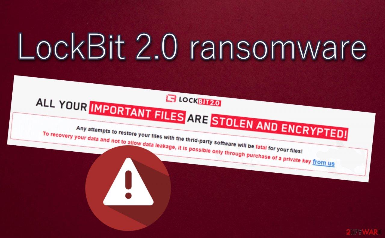 LockBit 2.0 ransomware