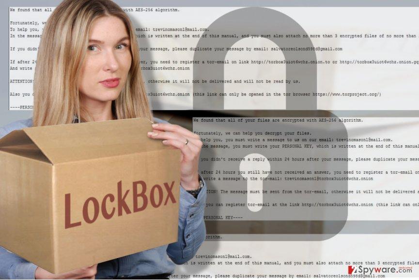 LockBox virus depiction