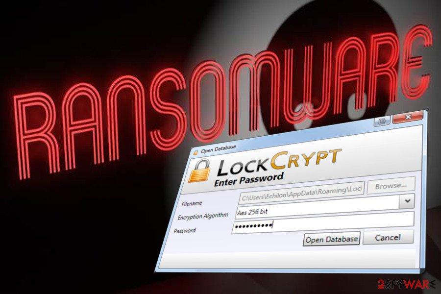 LockCrypt ransomware virus