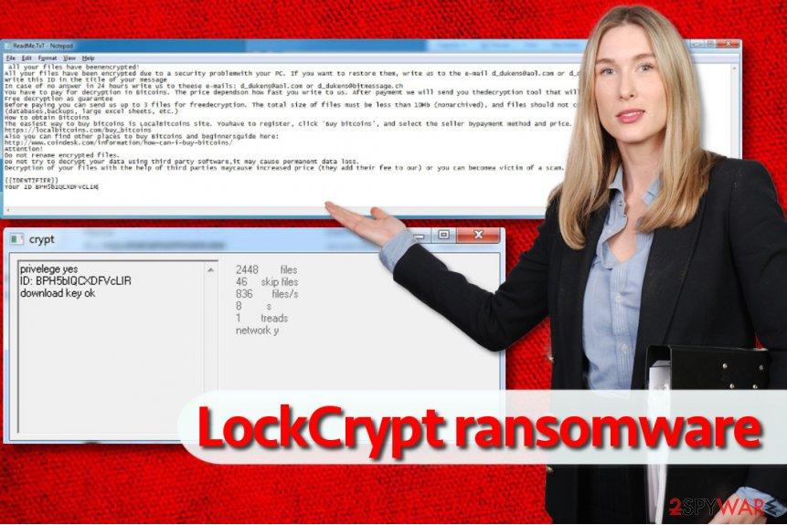 LockCrypt ransomware
