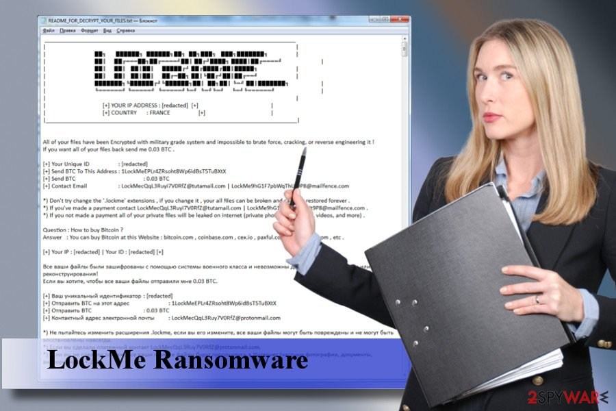 LockMe ransomware removal guide