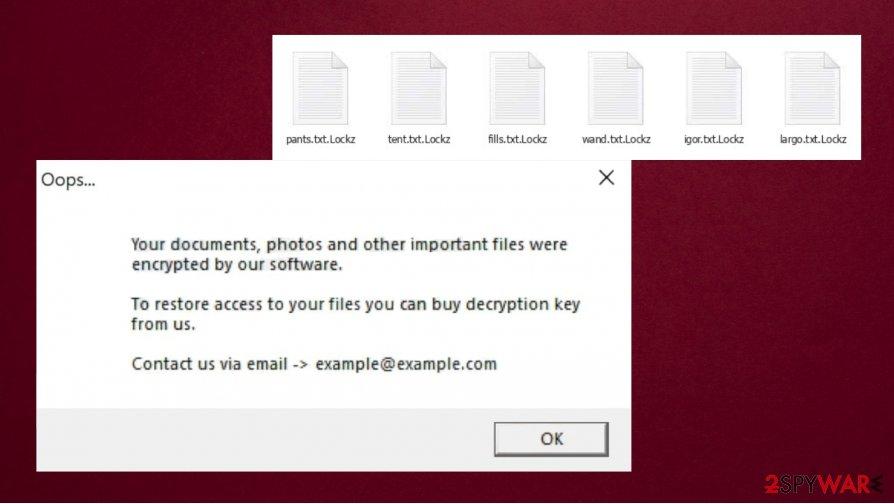 Lockz ransomware removal