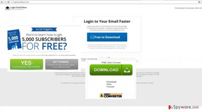 The image showing Login Email Now by SaferBrowser