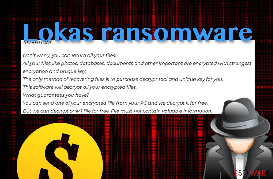 Lokas ransomware