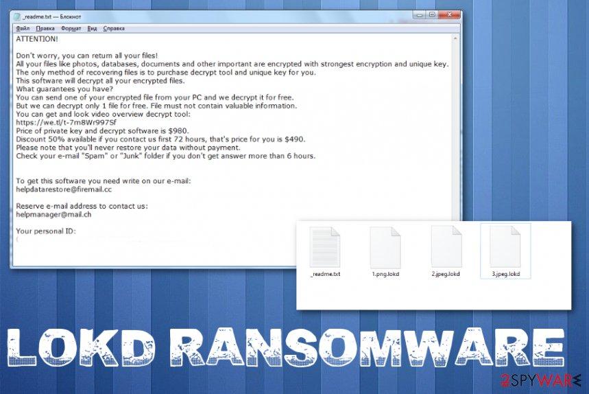 Lokd ransomware