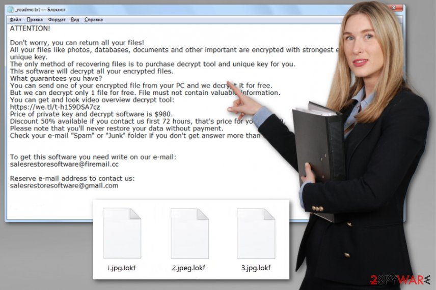Lokf ransomware virus