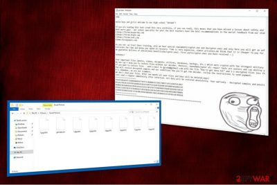 Image of .LOL! ransomware