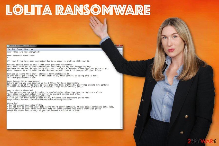 Lolita ransomware