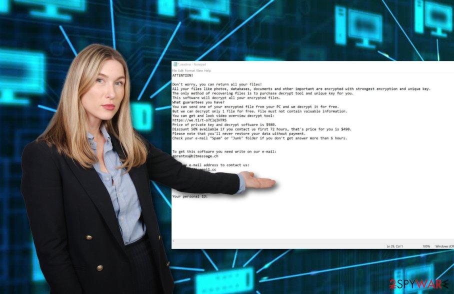 Londec ransomware virus