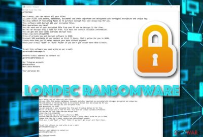 Londec ransomware infection