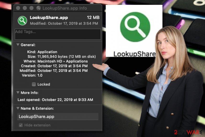LookupShare virus