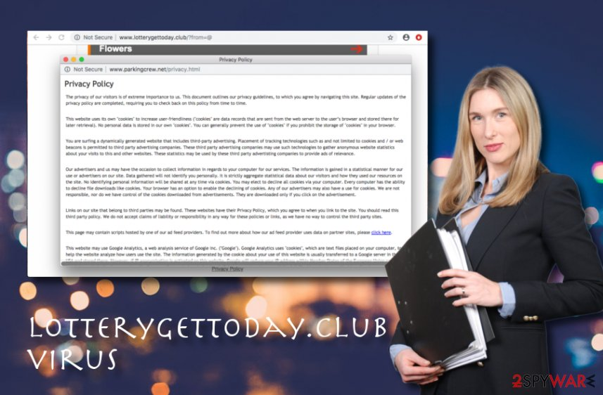 Lotterygettoday.club adware
