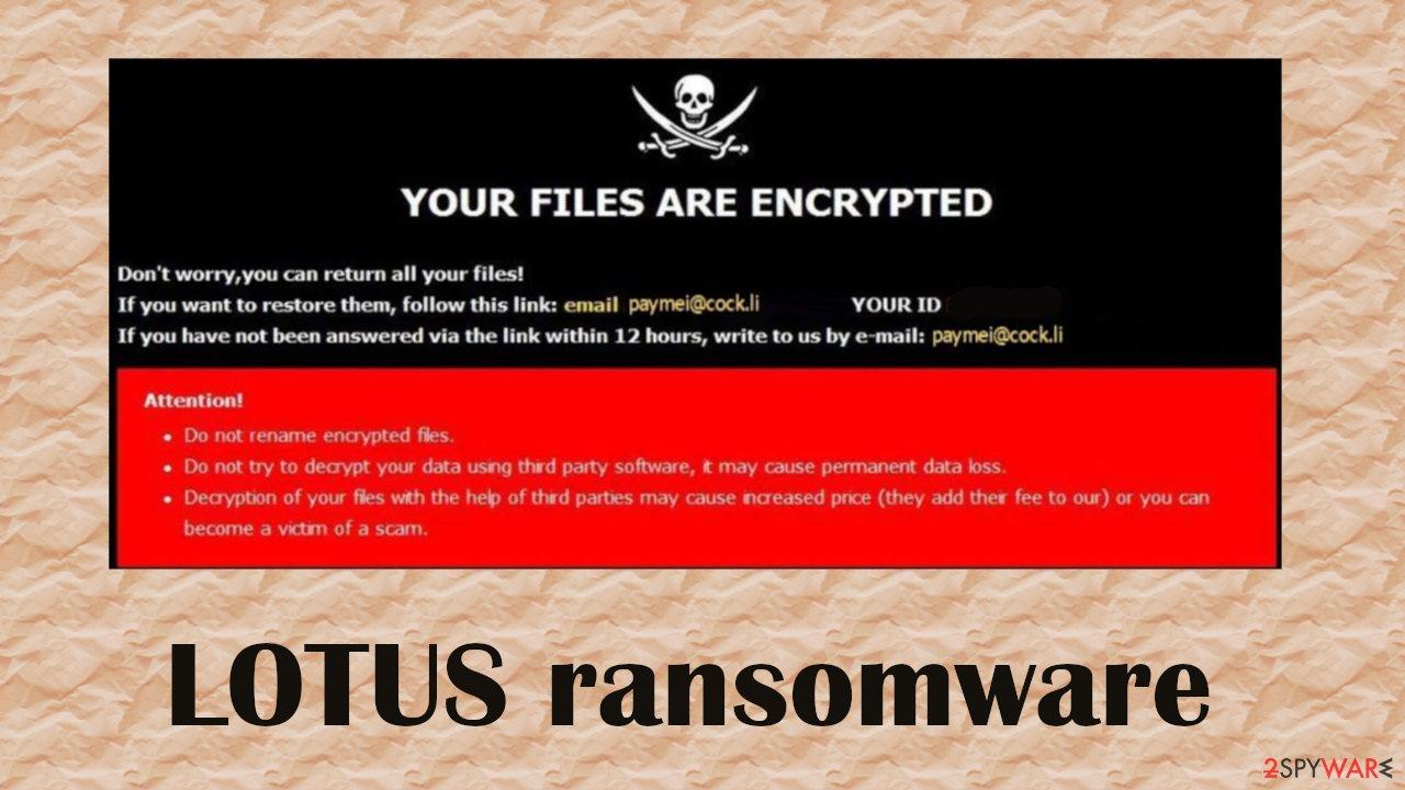 LOTUS file virus