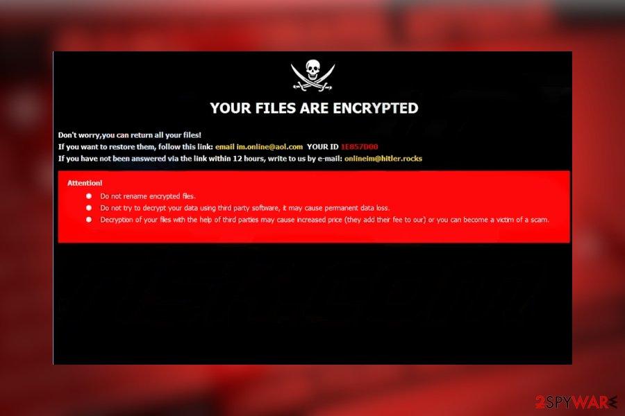 Dharma love$ ransomware