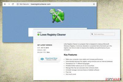 Lowe Registry Cleaner system tool