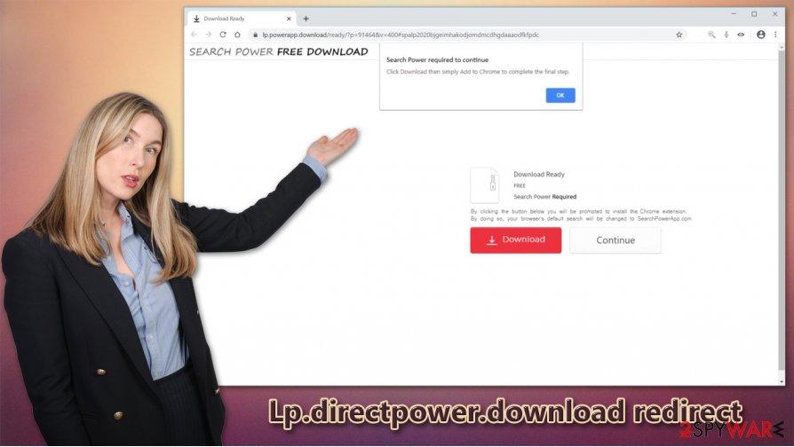 Lp.directpower.download scam