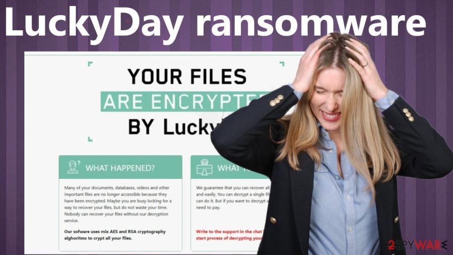 LuckyDay ransomware virus