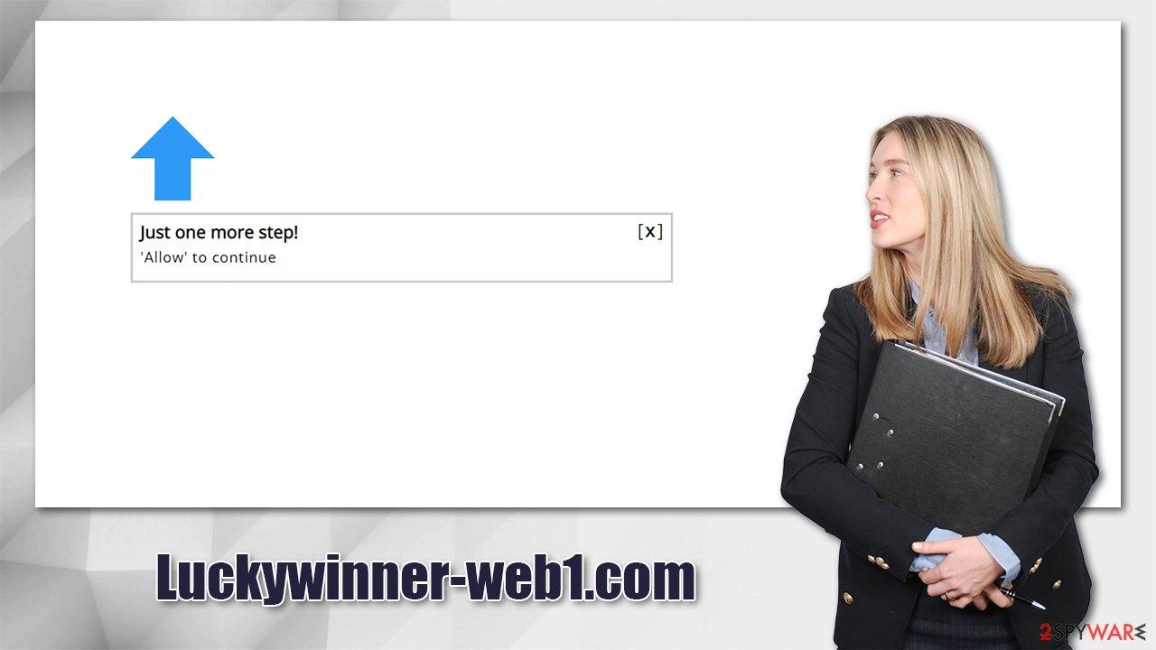 Luckywinner-web1.com virus