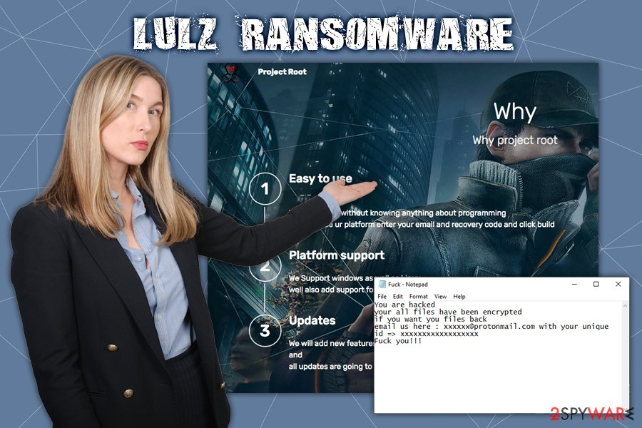 Lulz ransomware virus