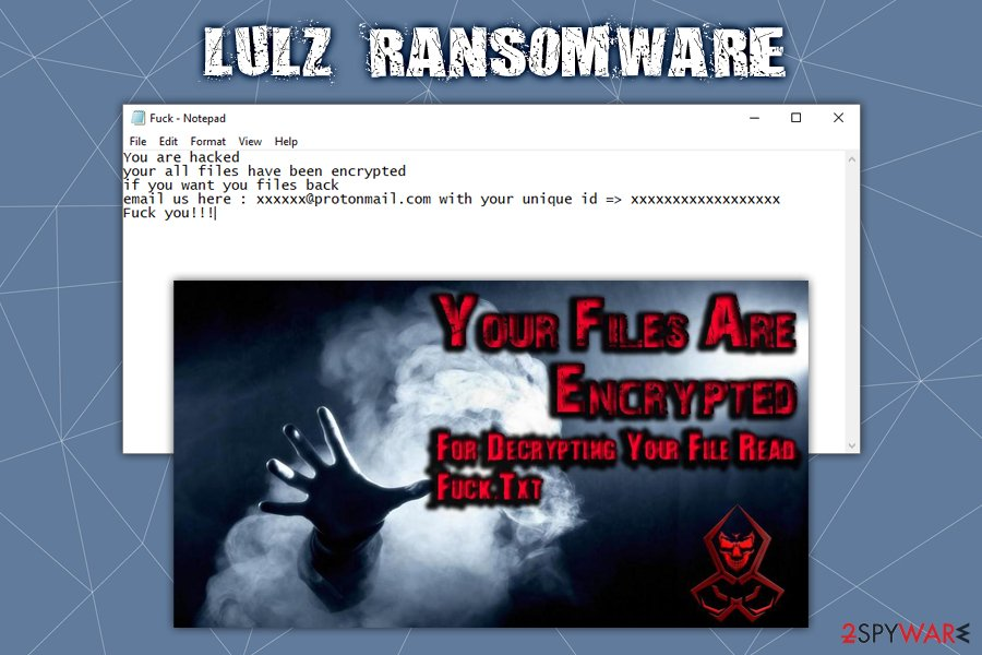 Lulz ransomware