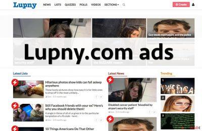 Lupny.com ads
