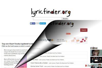 The image of Lyricfinder.org