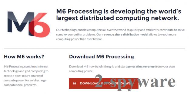 M6 Processing snapshot