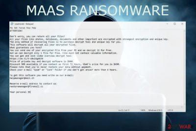 Maas ransomware