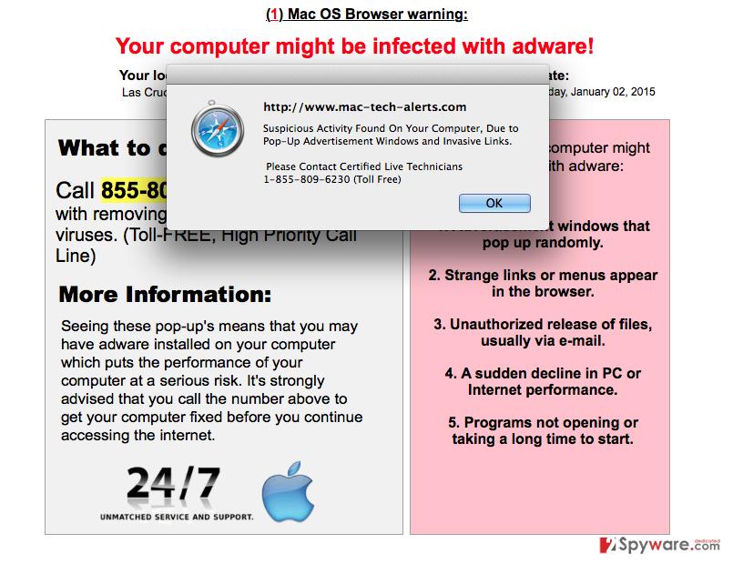 Mac-computer-alerts.com ads