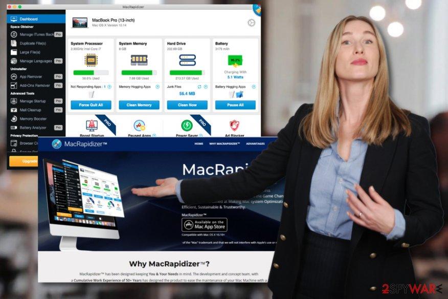 MacRapidizer system tool