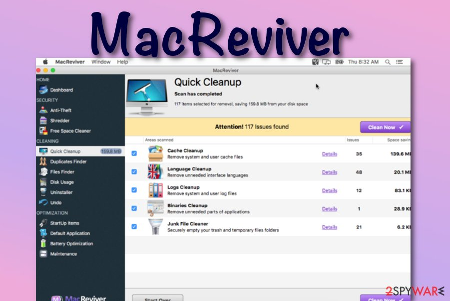 MacReviver virus