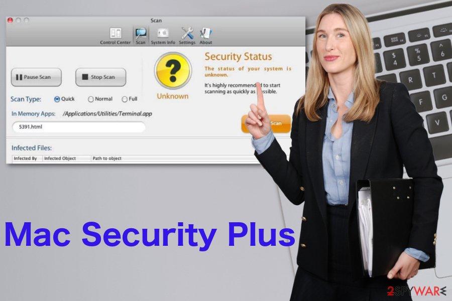 Mac Security Plus virus