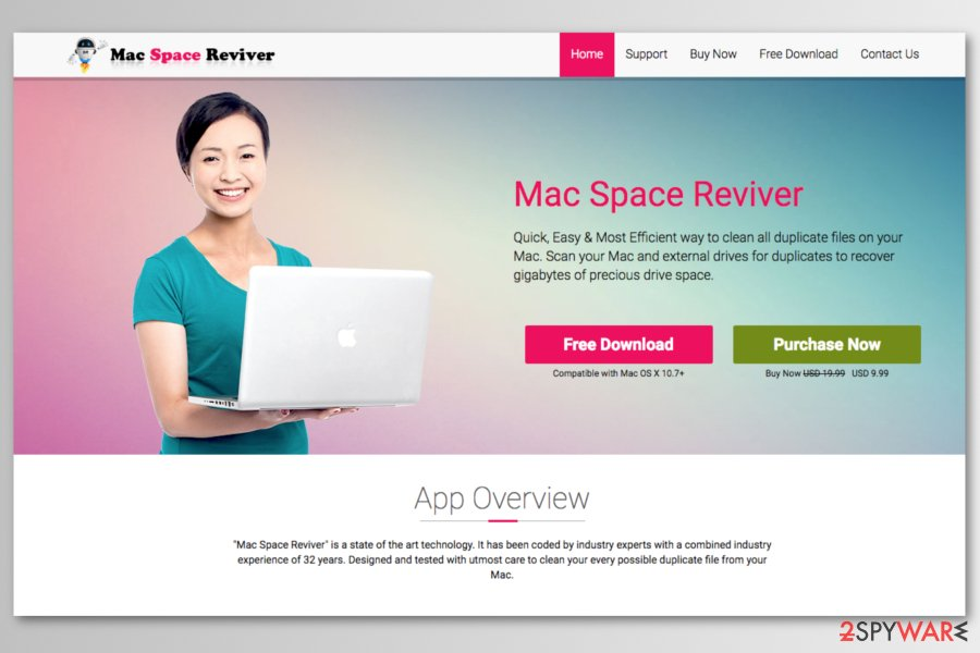 Mac Space Reviver download website