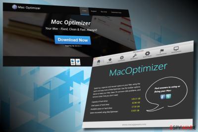 Mac Optimizer virus example