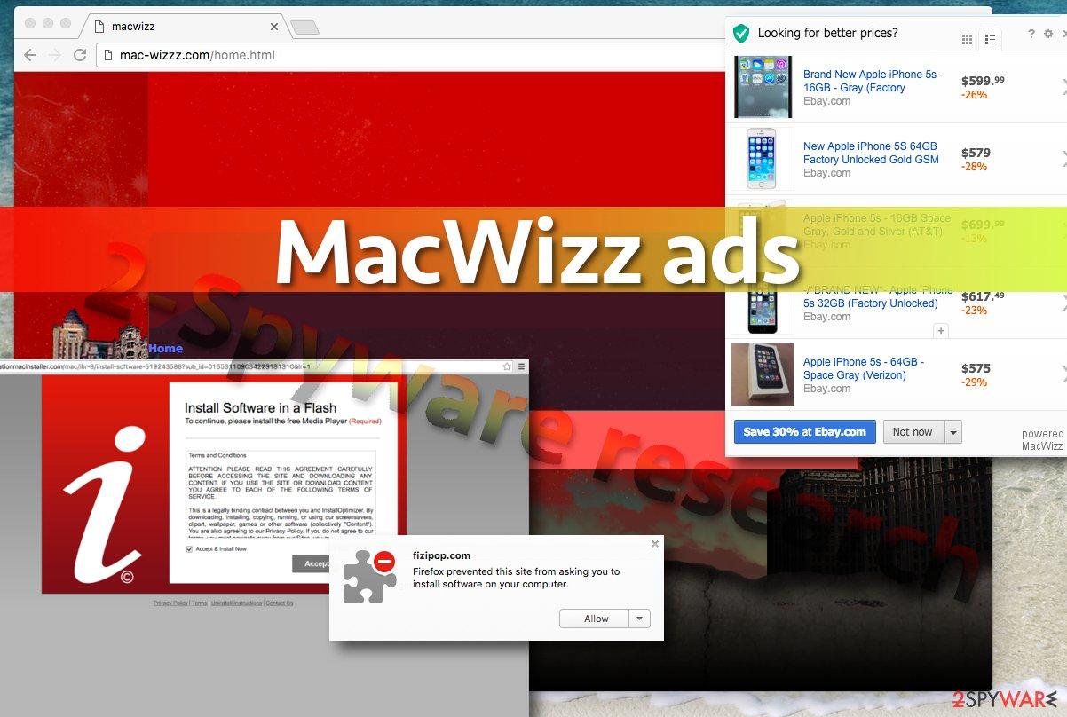 Picture of MacWizz ads