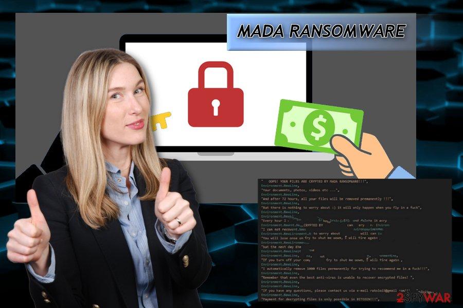 Jigsaw MADA ransomware