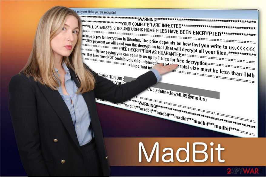 MadBit ransomware illustration