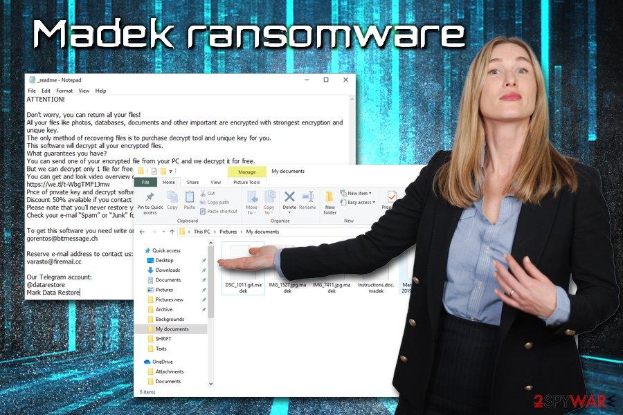Madek ransomware virus
