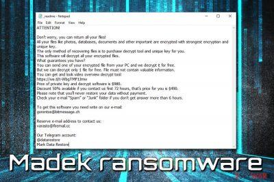 Madek ransomware
