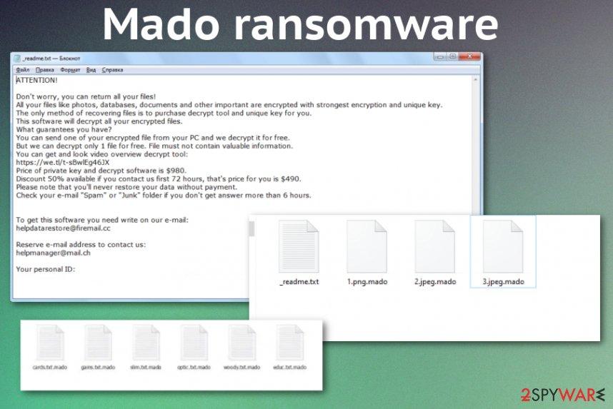Mado ransomware