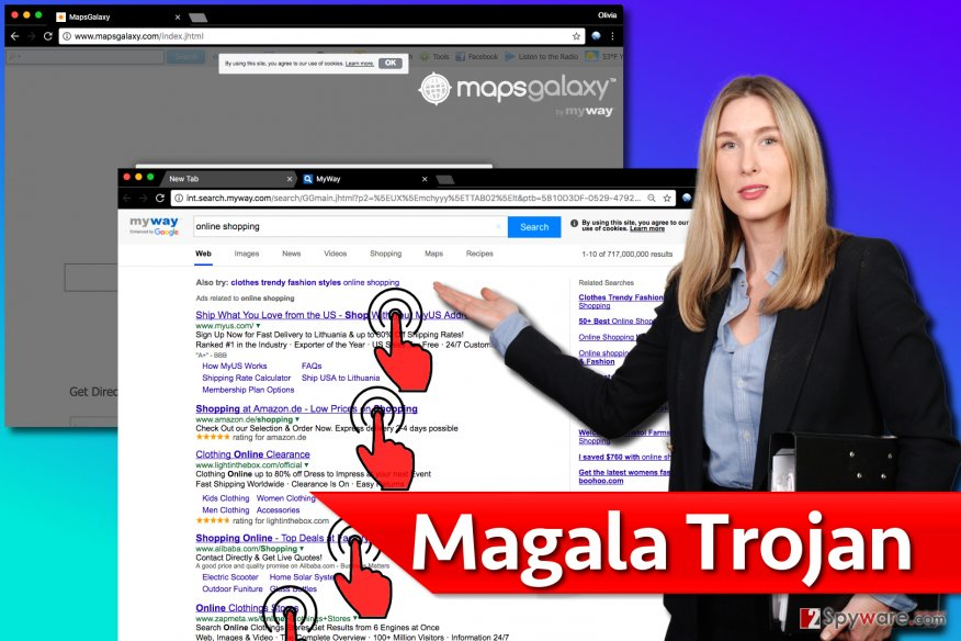 Magala click fraud virus